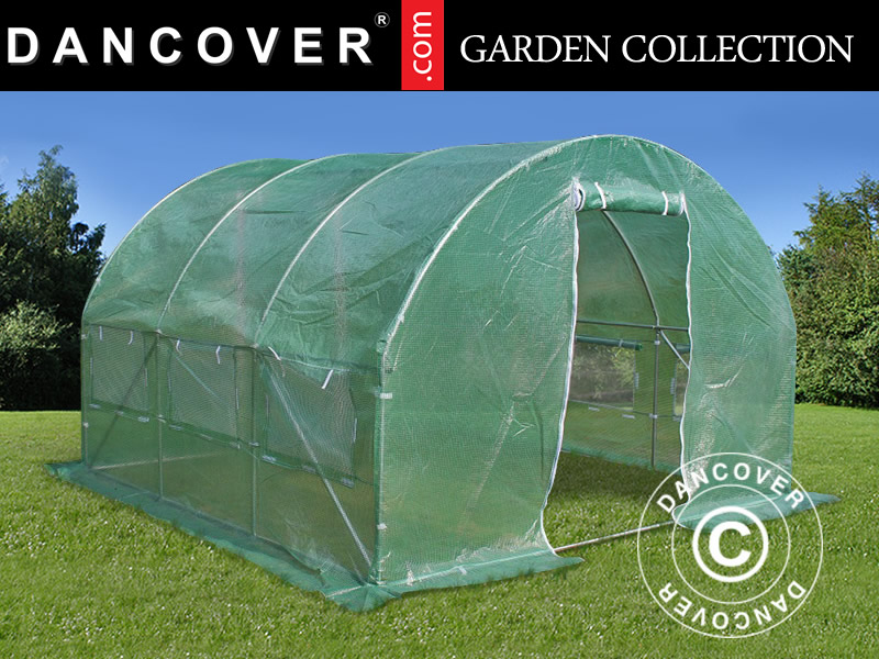 Polytunnel Greenhouse 3x3x2 M 9 M Green Dancovershop Uk