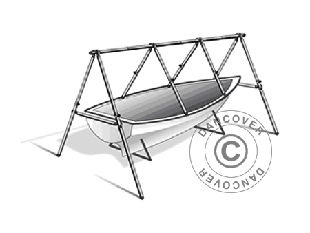 Deck frame for boat cover, NoTool MARK, 6 m
