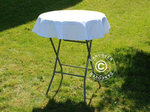 Tablecloth Ø80x20cm, White