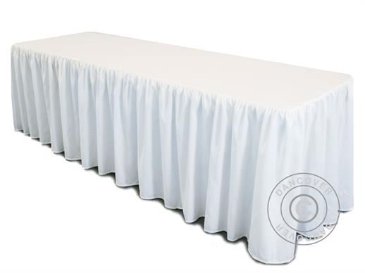 Tablecloth 244x76x74 cm, White