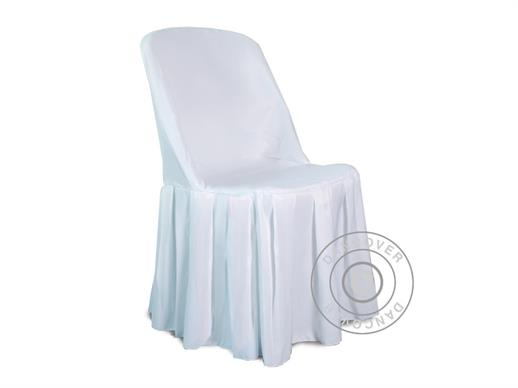 Chair cover for 48x43x89 cm chair, White