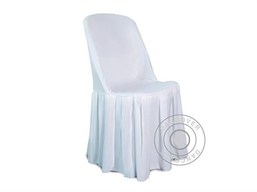 Chair cover for 44x44x80 cm chair, White
