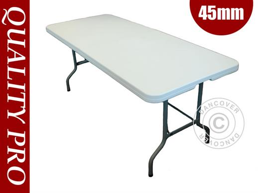 Table de banquet 182x74x74cm, Gris clair (1 pcs)