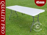 Folding Table PRO 182x74x74 cm, Light grey (1 pc.)