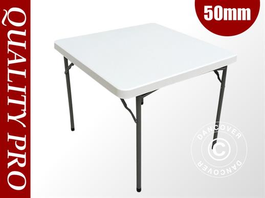 Table de banquet 88x88x74cm, Gris clair (1 pcs.)