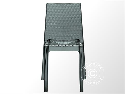 Chair, Hypnotic, Clear Smoked, 16 pcs.