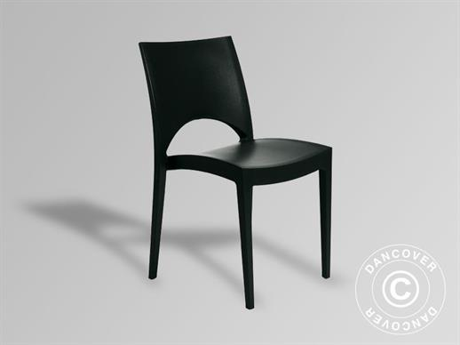 Chair, Paris, Anthracite, 6 pcs.
