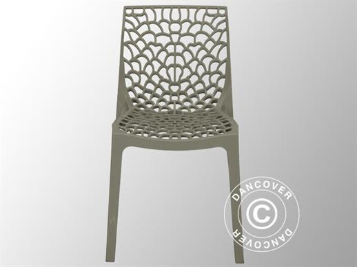 Chair, Gruvyer, Pearl Grey, 1 pcs. ONLY 1 PCS. LEFT
