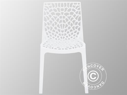 Chair, Gruvyer, White, 6 pcs.