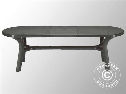 Table de jardin Pagoda, extensible, Anthracite
