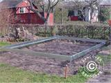 Greenhouse base for Halls Popular 1,93x3,19x1,95 m 6,2m² - 1