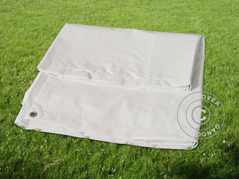b che b che de sol 2 6x3 1m pvc gris dancovershop fr. Black Bedroom Furniture Sets. Home Design Ideas