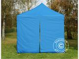 Kit de muros laterales para Carpa plegable FleXtents 4x4m, Azul - 4