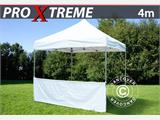 Half sidewall for FleXtents PRO Xtreme, 4 m, White - 1