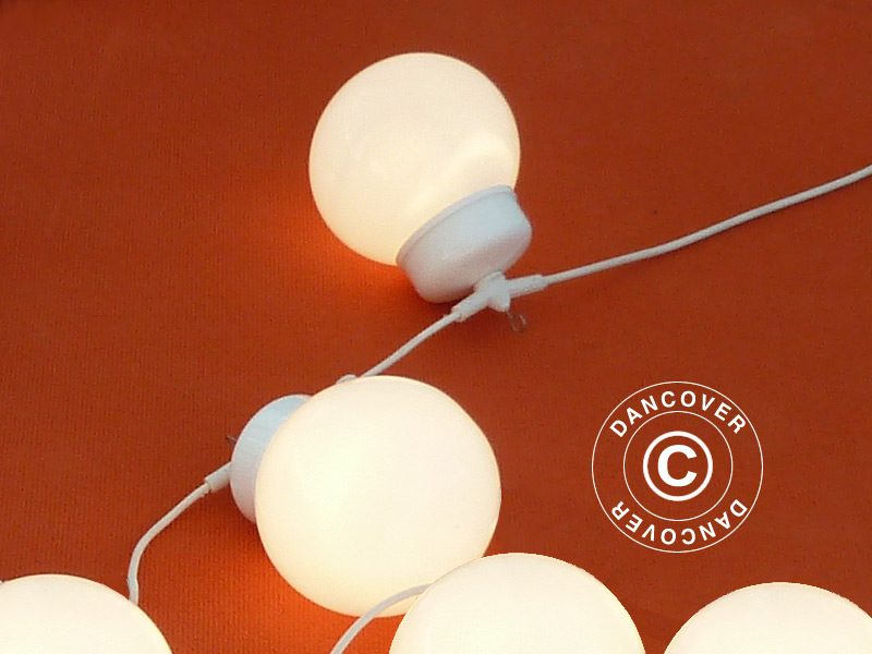 Cordão de luzes Globelight com 10 LED lâmpadas - Dancovershop PT