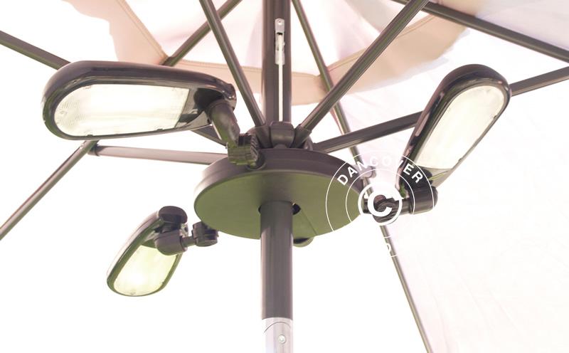 lumi re parasol luxor 30 leds dancovershop fr. Black Bedroom Furniture Sets. Home Design Ideas