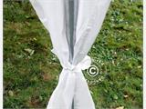 Marquee lining and leg curtain pack, white, for  4x10 m marquee - 11