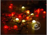 Partyljus LED, Fairy Berry, Orange, 24  st. - 5