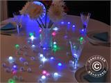 Party light, Fairy Berry, LED Pink, 24  pcs. - 1