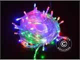 LED Fairy lights, 25 m, Multifunction, Multicoloured, Transparent cord - 4