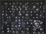 LED curtain, 3x2 m, white - 4