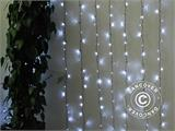 LED curtain, 3x2 m, white - 5