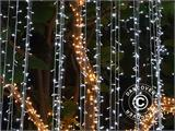 LED Fairy lights, 50 m, Multifunction, Warm white, ONLY 1 PC. LEFT - 3