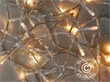 LED Fairy lights, 50 m, Multifunction, Warm white, ONLY 1 PC. LEFT - 6