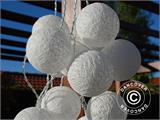 Cotton Ball fairy lights, Aries, 30 LED, White - 10
