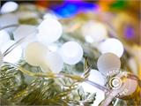 LED  Fairy lights, multifunction, 10 m, 100 balls, warm white - 9