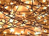 LED Fairy lights w/ 140 LEDs, multifunction, 10,5m, warm white   - 1