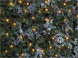 LED Fairy lights w/ 140 LEDs, multifunction, 10,5m, warm white   - 4