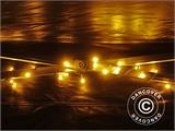 LED Fairy lights w/ 140 LEDs, multifunction, 10,5m, warm white   - 7