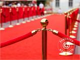 Red carpet runner, 1,25x8 m, 400 g - 1
