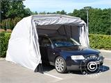 Folding garage (Car), 2.6x5.8x2.1 m, Grey - 1