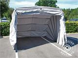 Folding garage (Car), 2.6x5.8x2.1 m, Grey - 5