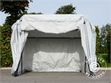 Folding garage (MC), 1.88x3.45x1.9 m, Grey - 5