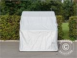 Folding garage (MC), 1.88x3.45x1.9 m, Grey - 7