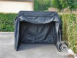 Folding garage (MC), 1.88x3.45x1.9 m, Black - 4