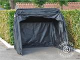 Folding garage (MC), 1.88x3.45x1.9 m, Black - 5