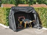Folding garage (MC), 1.88x3.45x1.9 m, Black - 6