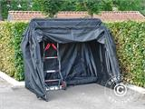 Folding garage (MC), 1.88x3.45x1.9 m, Black - 7
