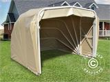Folding garage (Car), ECO, 2.5x6.1x2 m, Beige  - 1
