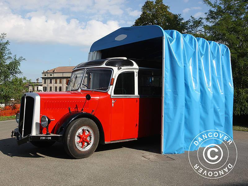 Folding tunnel garage (Caravan), 3.5x7.21x3.9 m, Beige ...