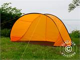Strandtält, FlashTents®, 2 personer, Orange/Mörkgrå - 1
