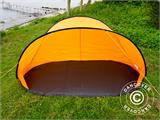 Strandtält, FlashTents®, 2 personer, Orange/Mörkgrå - 2