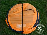 Strandtält, FlashTents®, 2 personer, Orange/Mörkgrå - 4
