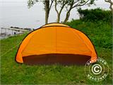 Strandtält, FlashTents®, 2 personer, Orange/Mörkgrå - 7