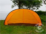 Strandtält, FlashTents®, 2 personer, Orange/Mörkgrå - 8