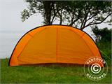 Strandtält, FlashTents®, 2 personer, Orange/Mörkgrå - 12